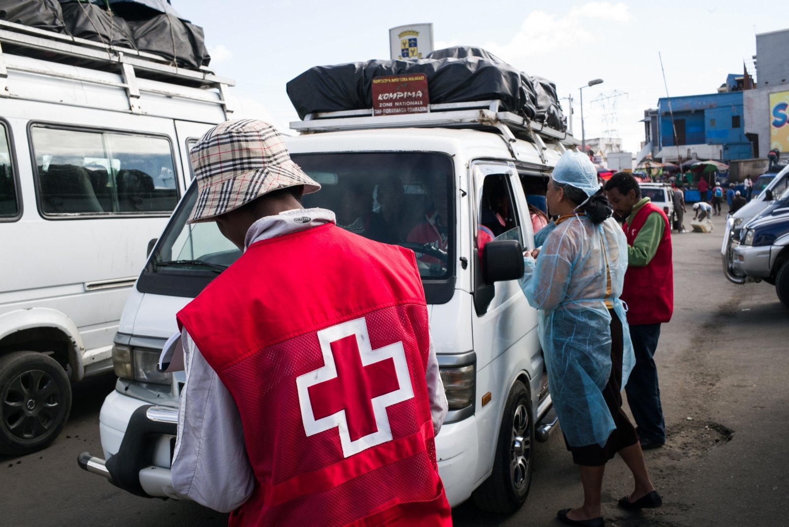 Red Cross in Malagasy, Madagascar