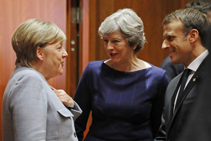 Angela Merkel suggests EU is ready to begin post-Brexit trade talks