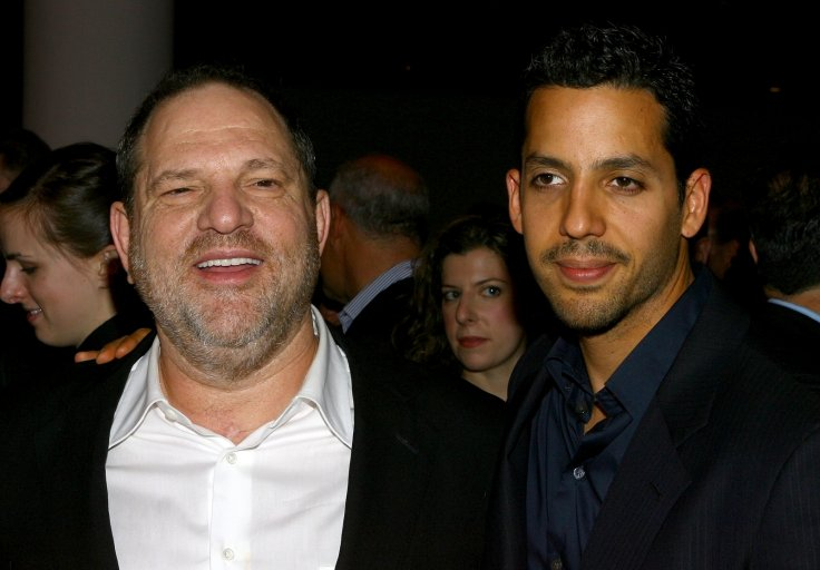 Harvey Weinstein and David Blaine