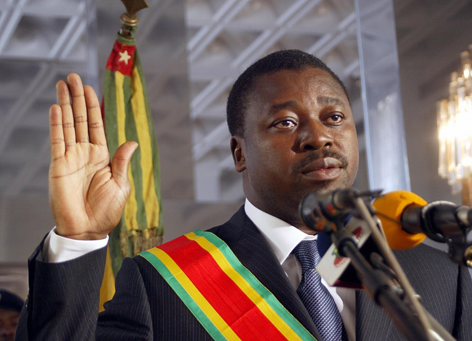 Togo Anti-Government Protest Faure Gnassingbe