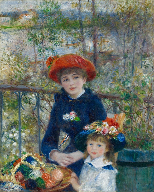 Renoir, Two Sisters