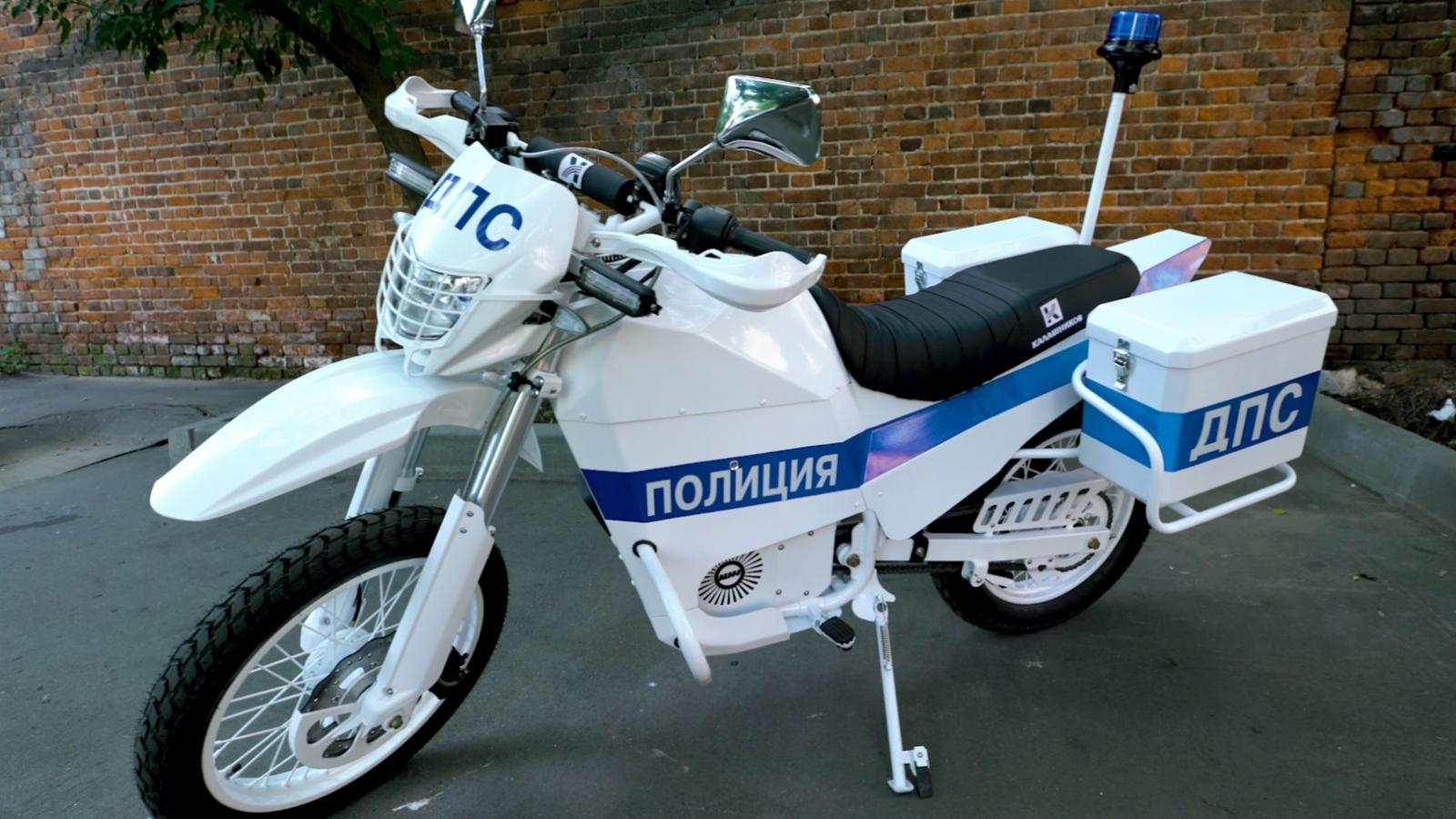 Kalashnikov electric bike
