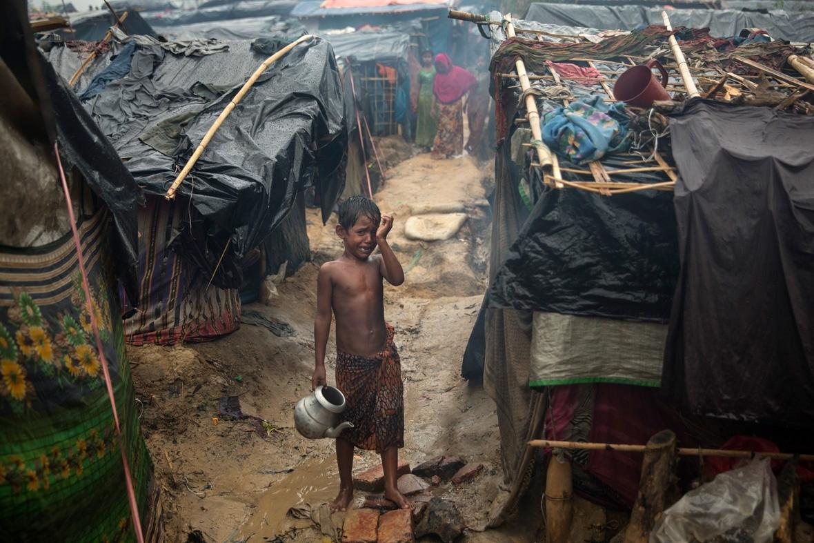 Rohingya children