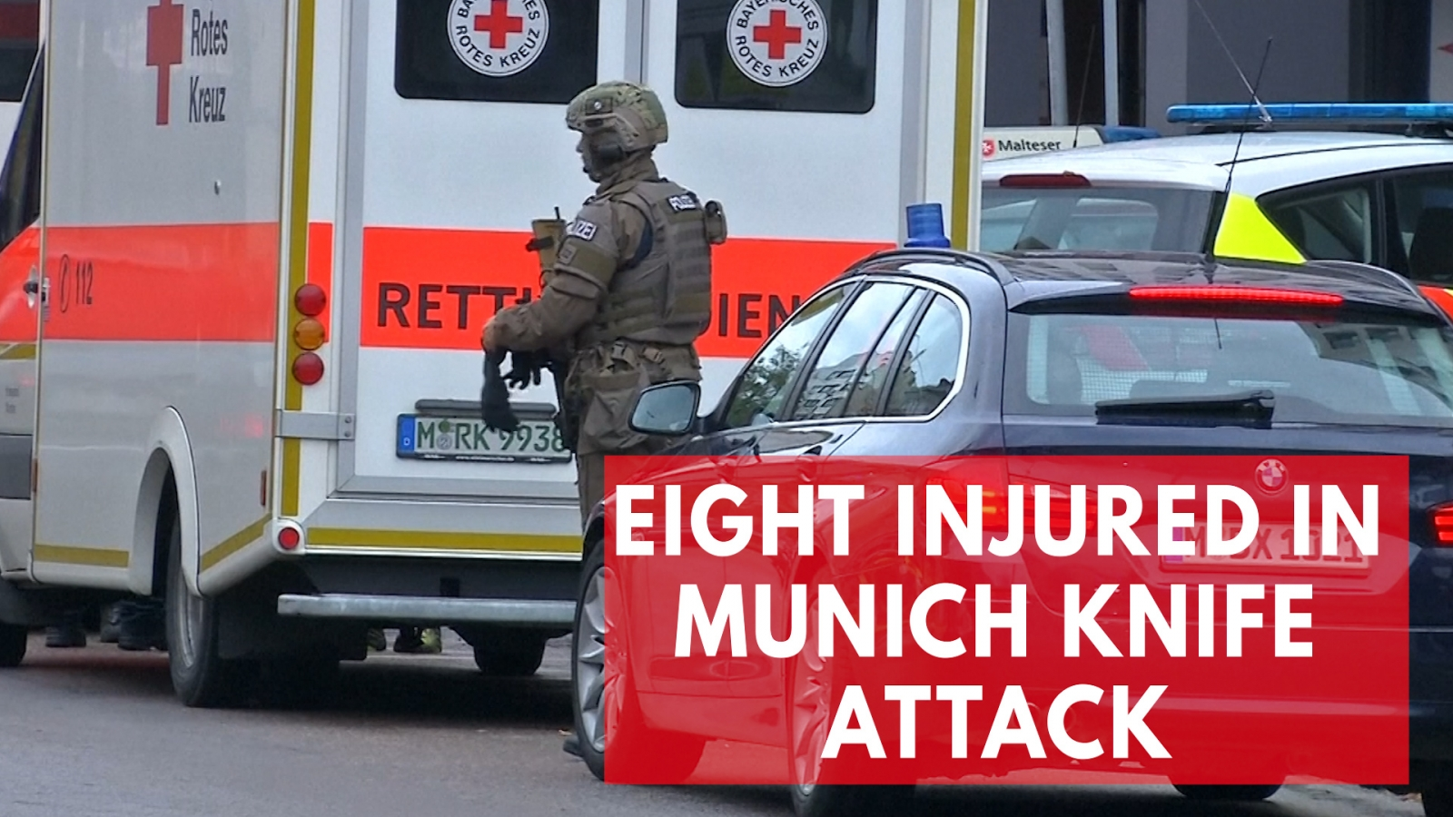 Suspect arrested after eight injured in Munich knife attack