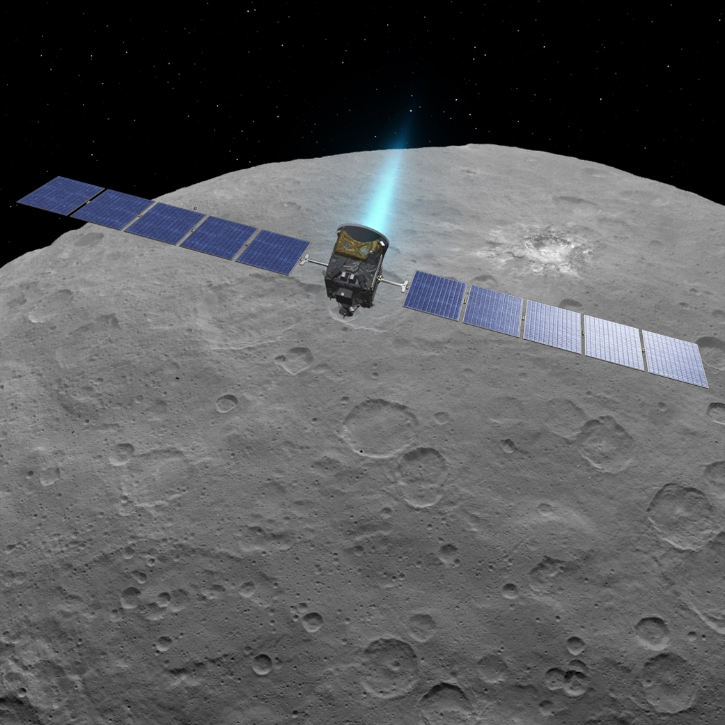 NASA Extends the Dawn Spacecraft's Mission at Ceres Indefinitely