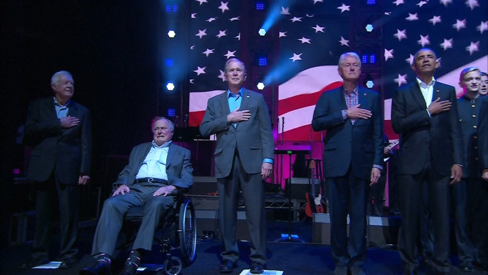 all-five-living-former-u-s-presidents-appear-at-hurricane-relief-concert