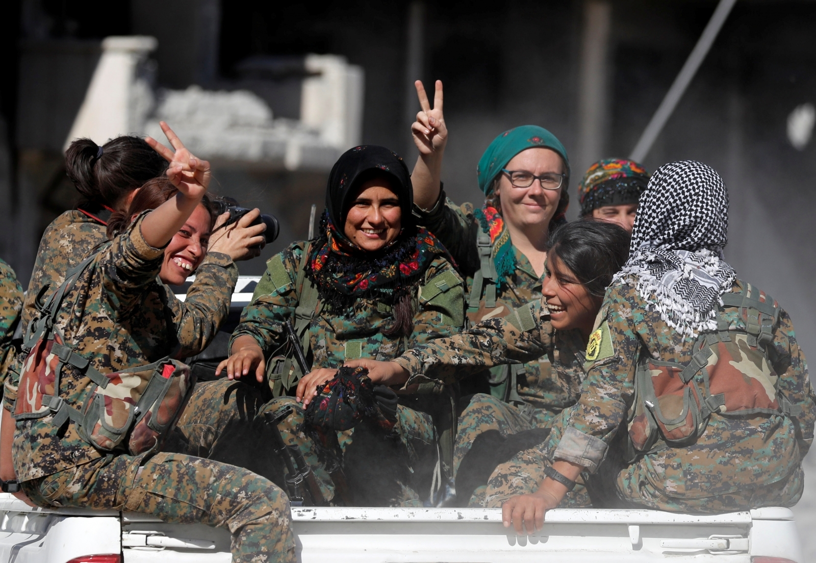 SDF fighters