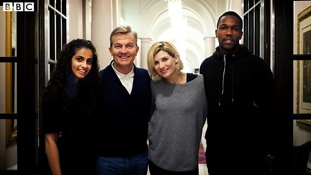 Bradley Walsh 'thrilled' to be Doctor Who's new assistant as line-up revealed