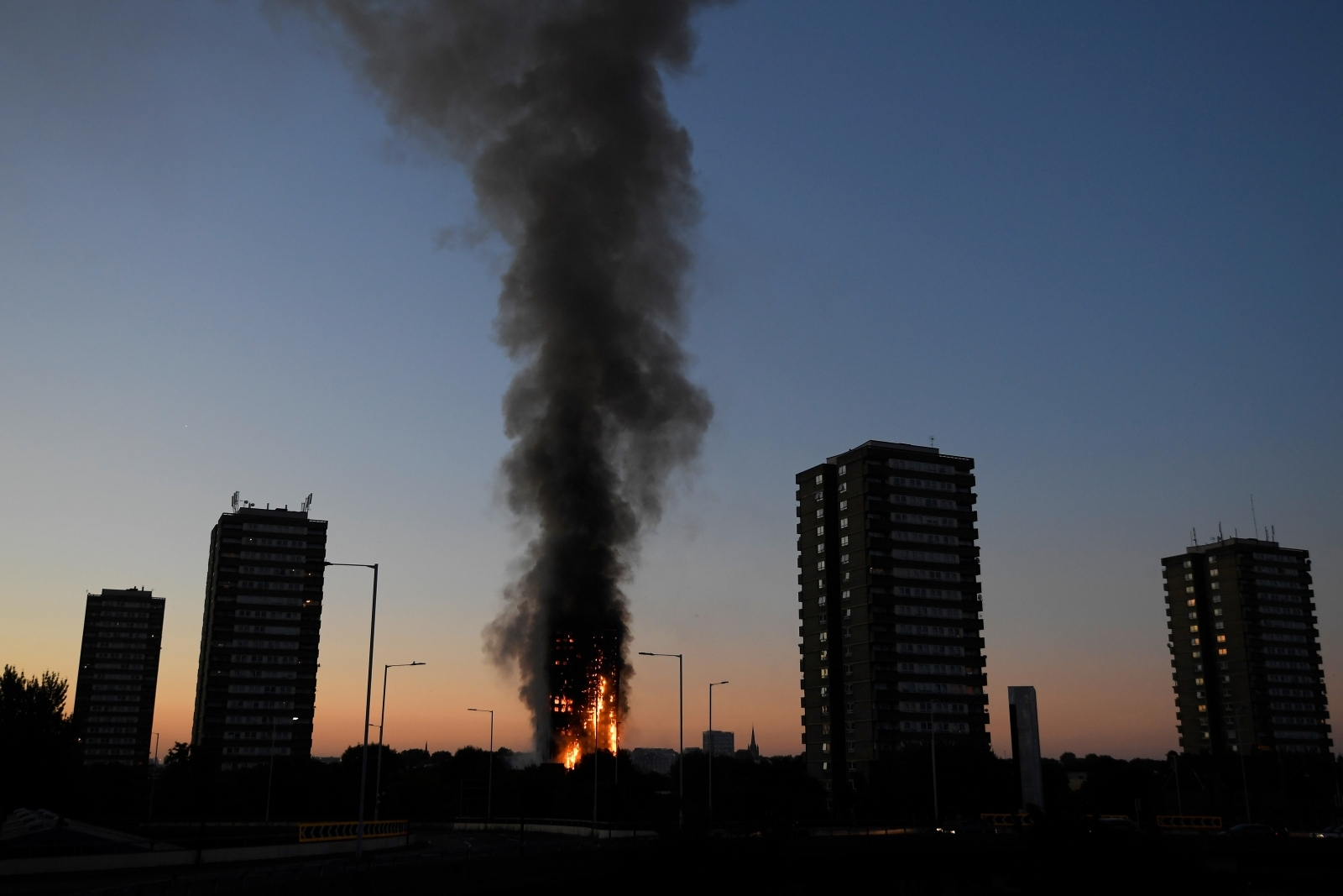 Grenfell Fire Pensioner Has Heart Attack After Returning
