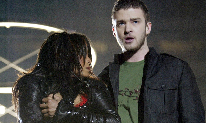 Justin Timberlake Janet Jackson Super Bowl Nipplegate