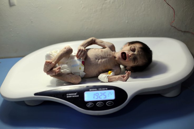 Syrian baby