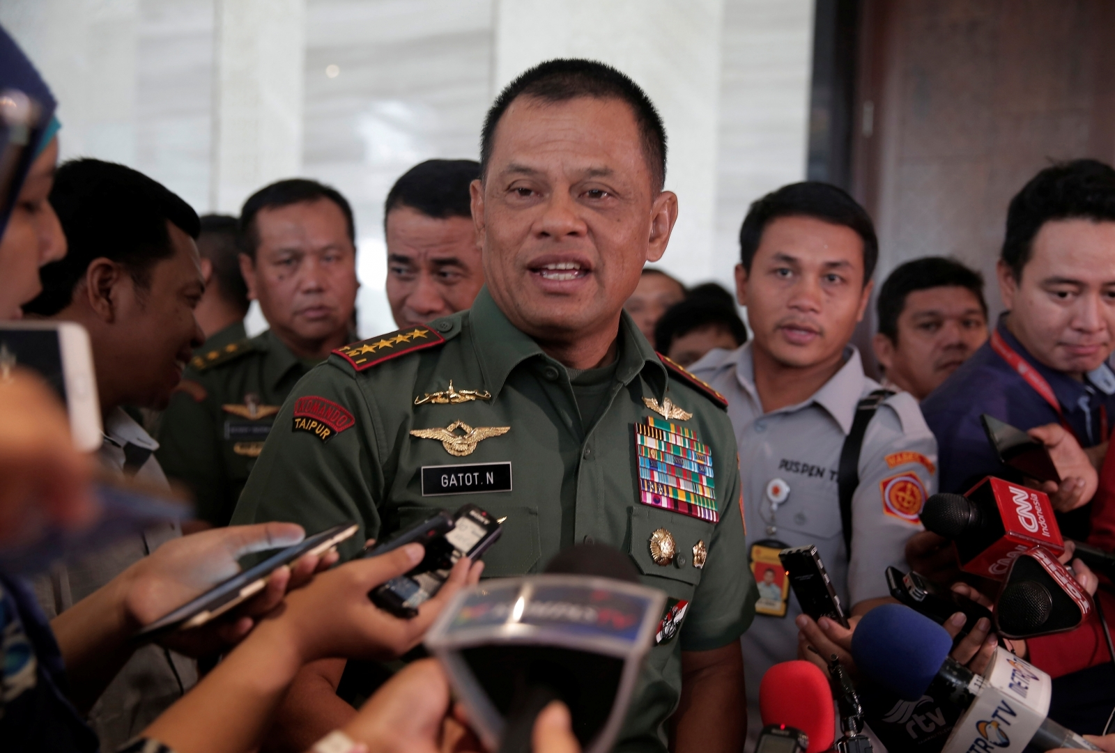 James Mattis apologises after Indonesian army chief denied