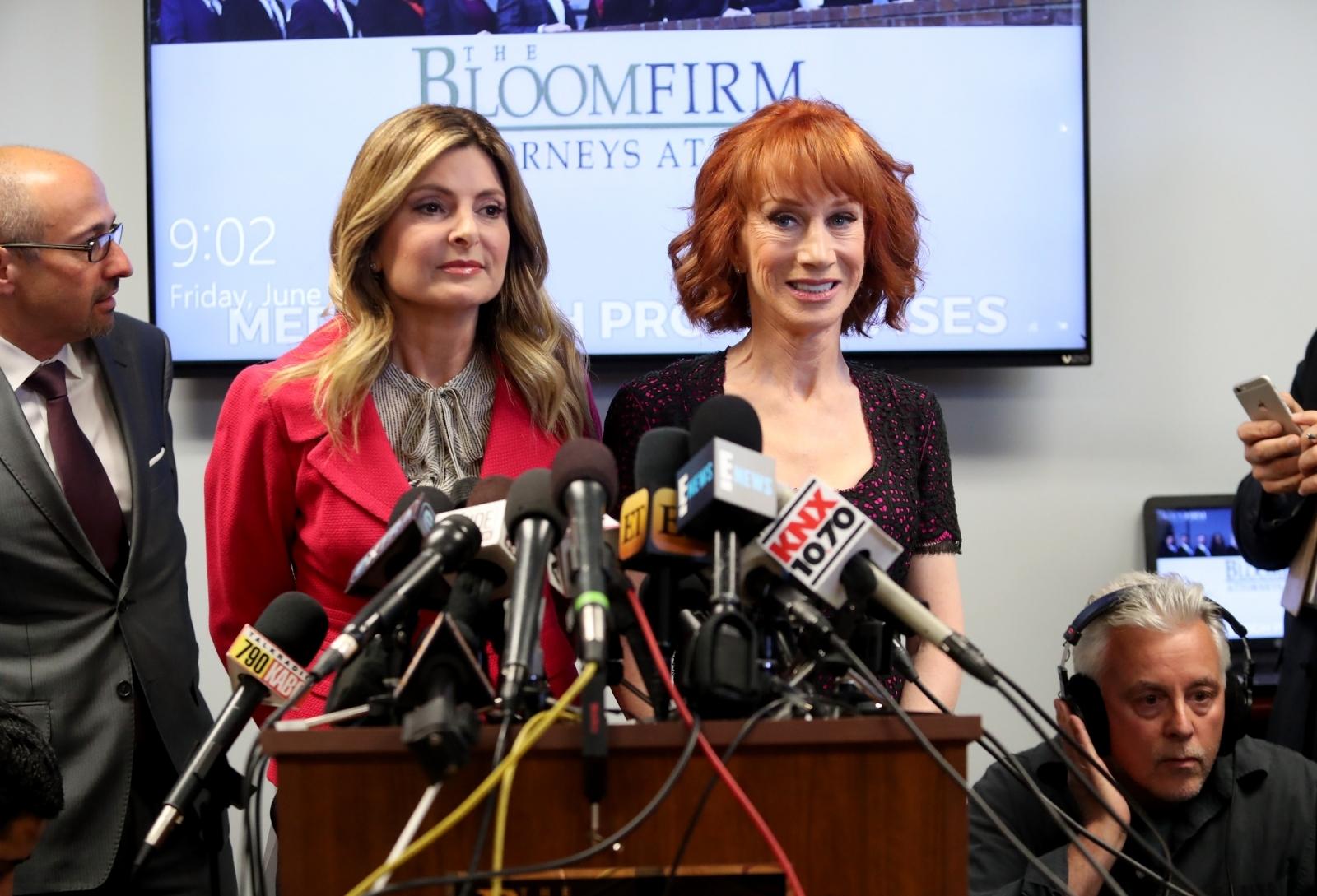 Lisa Bloom, Kathy Griffin