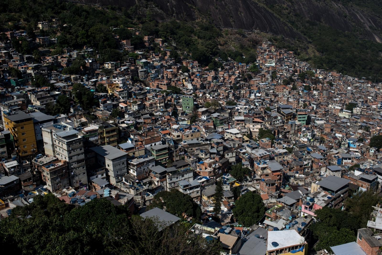 rochina favela rio de janiro brazil