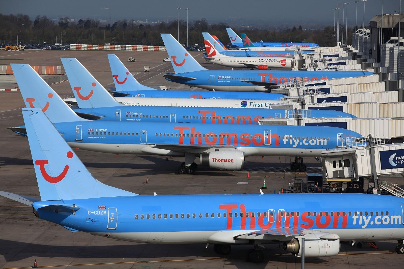 TUI Flight Diverted