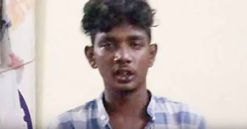 Rape accused Ganji Siva