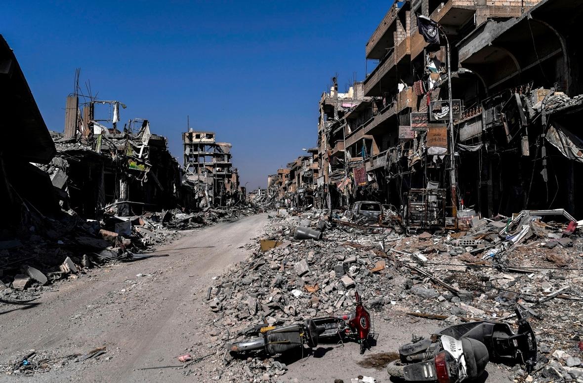 Raqqa ruins
