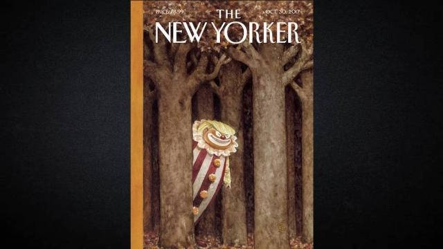 Trump New Yorker Clown