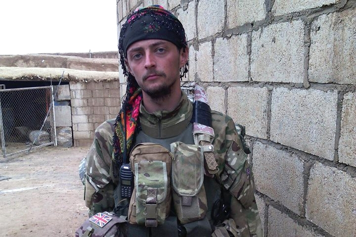 British fighter Jac Holmes, who had been battling Islamic State in Syria, has been killed while clearing landmines