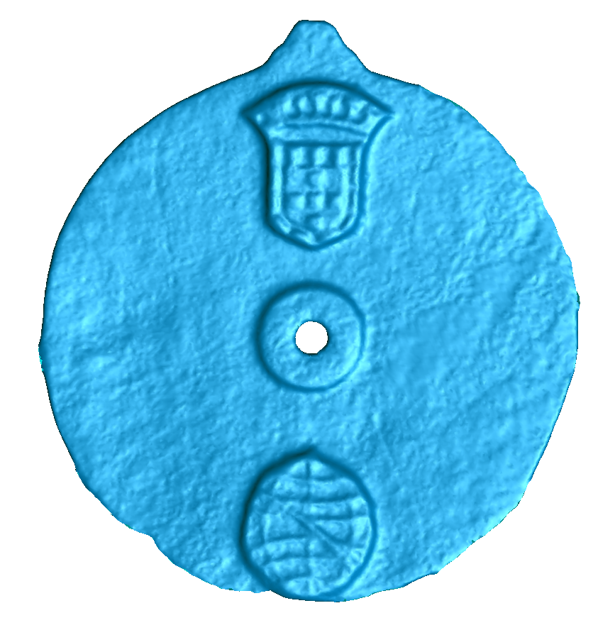 Scan of astrolabe