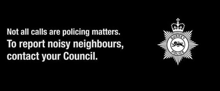 surrey police vid
