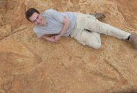 Mega-carnivore' dinosaur footprint