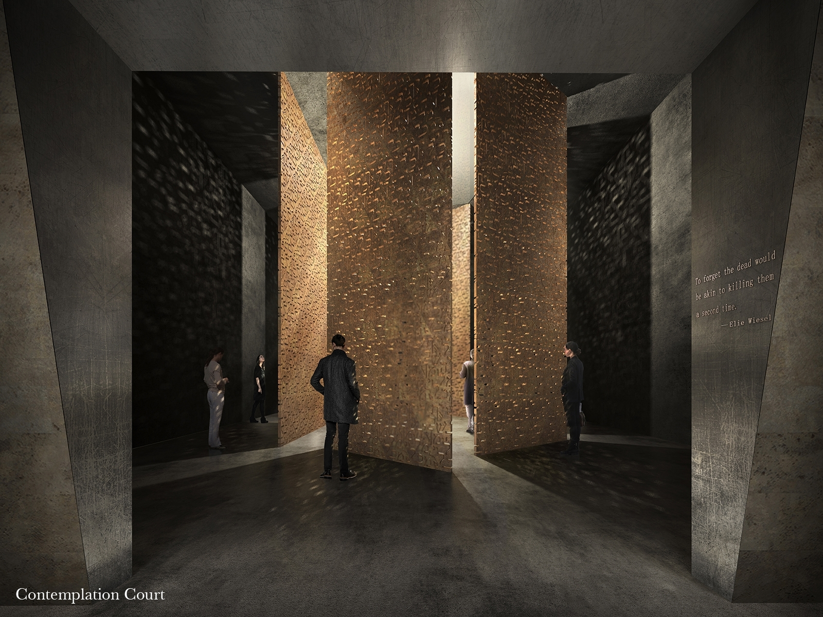 London's Holocaust memorial