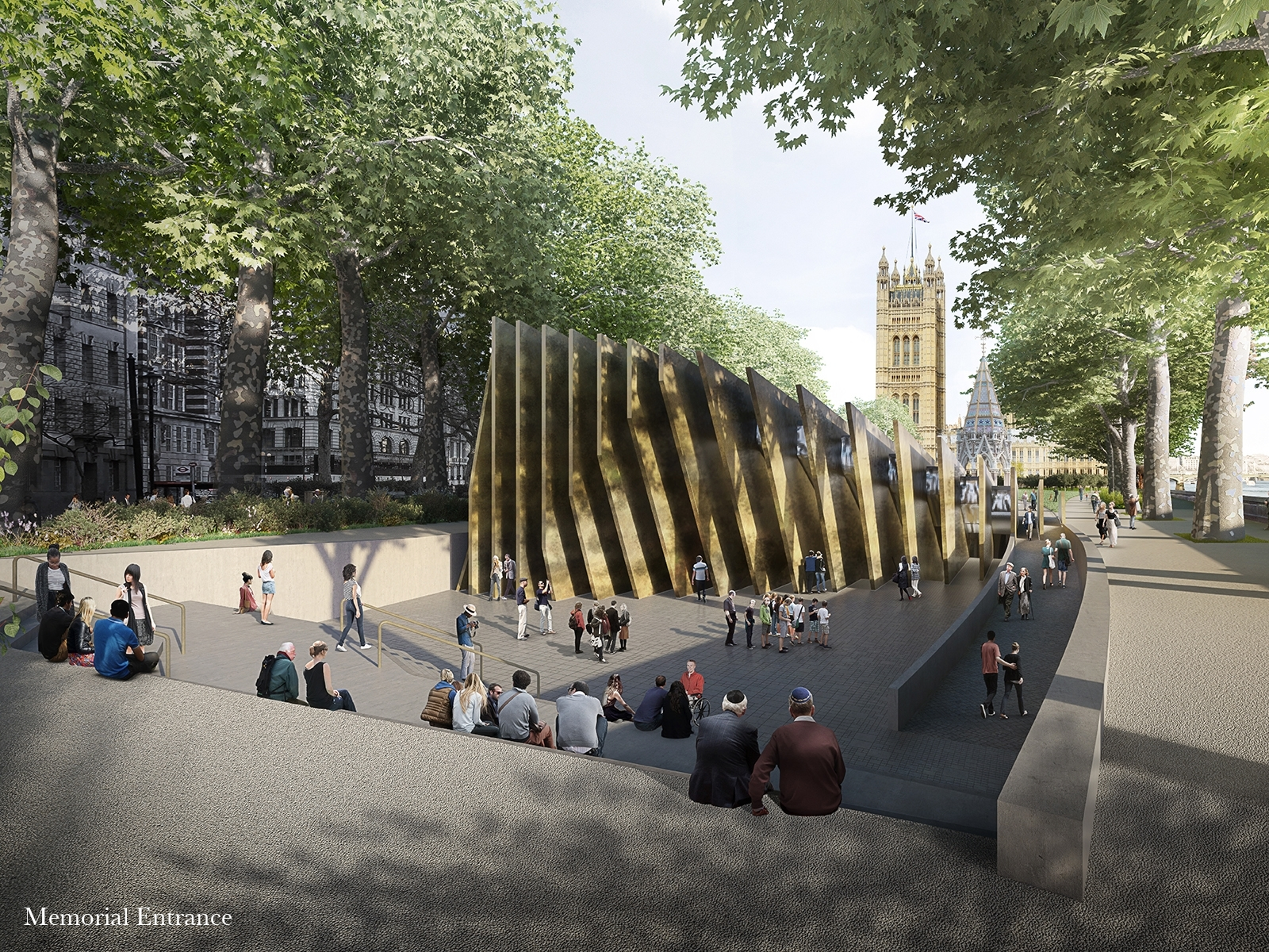 Londons Holocaust memorial