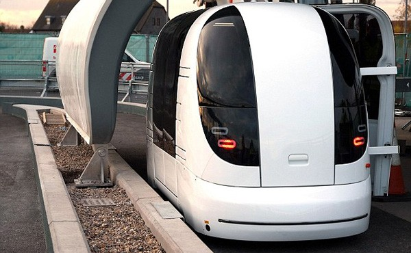 The pods used at Heathrow airport