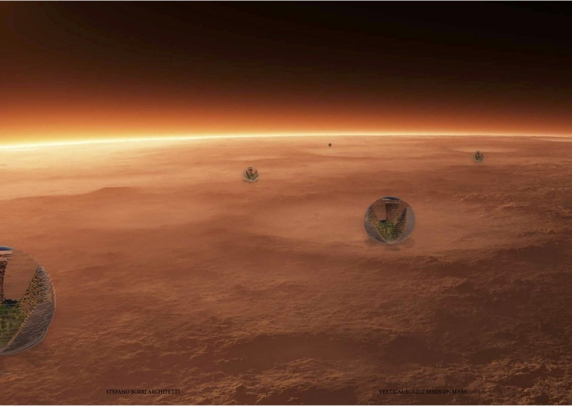 Mars colony 2117