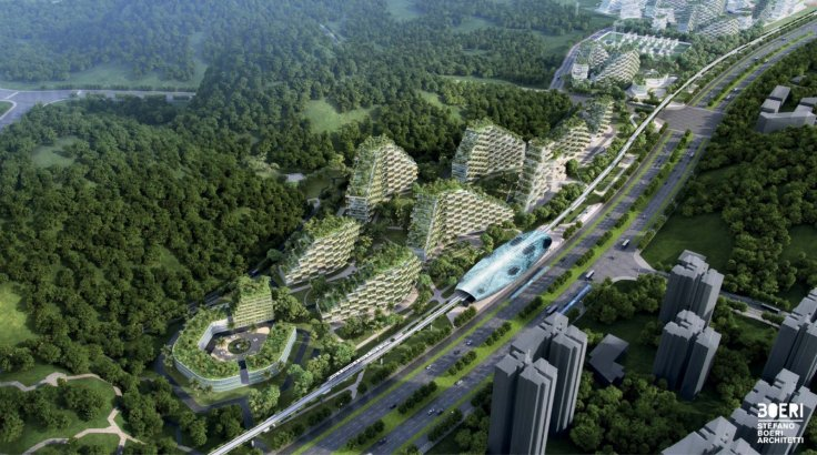 Forest city concept