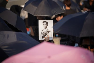 King Bhumibol of Thailand funeral