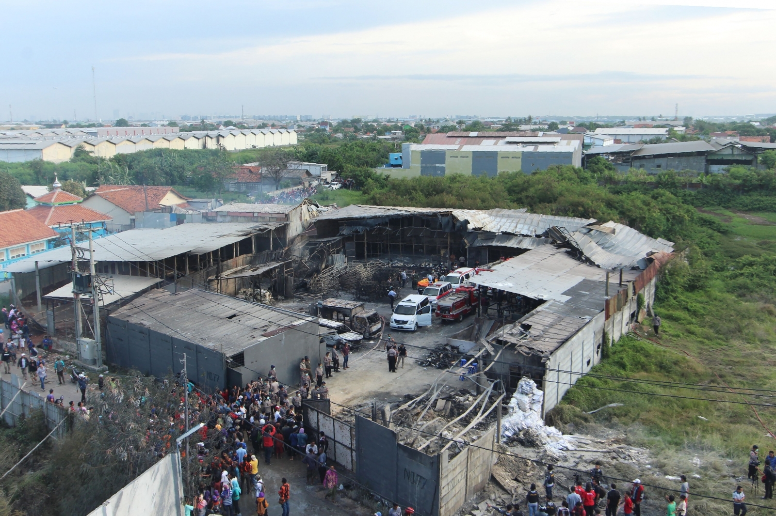 Indonesia fireworks factory explosion