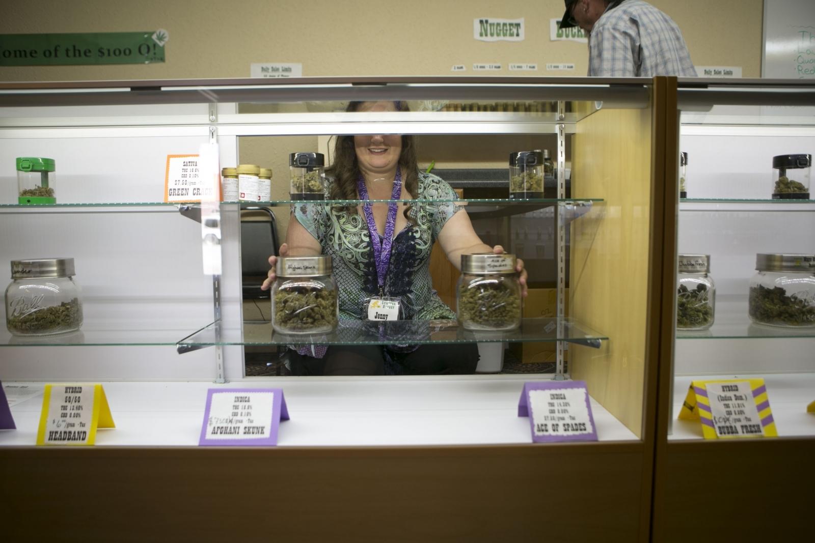 Marijuana dispensary in Oregon