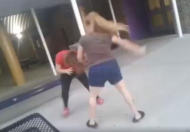 Texas mother beats teenage girl