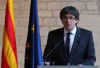 Carles Puigdemont Catalonia Spain