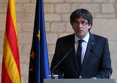 Carles Puigdemont Catalonia Spain