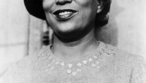 Zora Neale Hurston (1903-1960) studied anthropology under scholar Franz Boas. She wrote several novels, drawing heavily on her knowledge of human development and the African American experience in America. She is best known for Their Eyes Were Watching Go