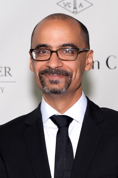 Junot Diaz attends the 2013 Norman Mailer Center gala at the New York Public Library on October 17, 2013 in New York City