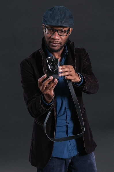 Teju Cole during the Edinburgh International Book Festival on August 13, 2017 in Edinburgh, Scotland.