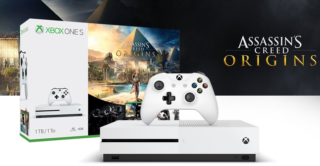Xbox One S Assassin's Creed bundle
