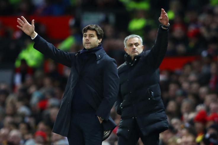 Mauricio Pochettino and Jose Mourinho