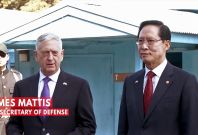 Defense Secretary Mattis At Korean DMZ: 'Our Goal Is Not War'
