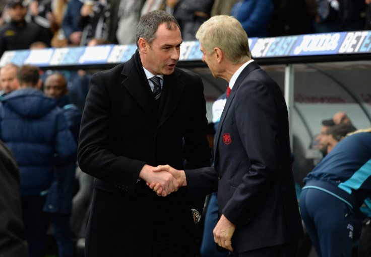 Paul Clement and Arsene Wenger