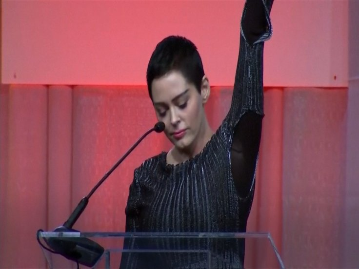 In Women's Convention Speech, Rose McGowan Calls For Drastic Change In Hollywood Culture