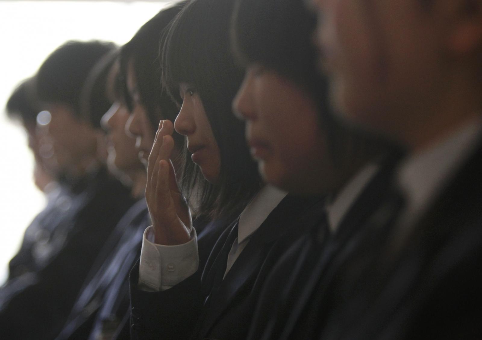 Japan school girls