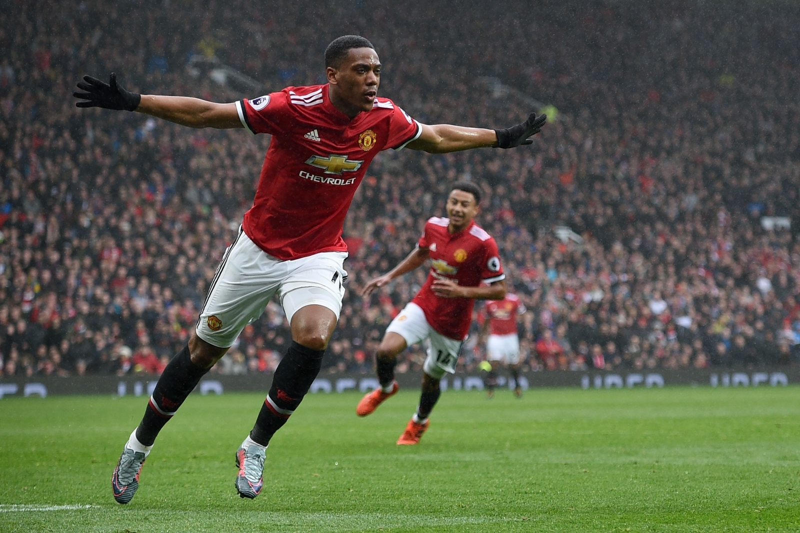 Manchester United substitute Anthony Martial strikes late ...