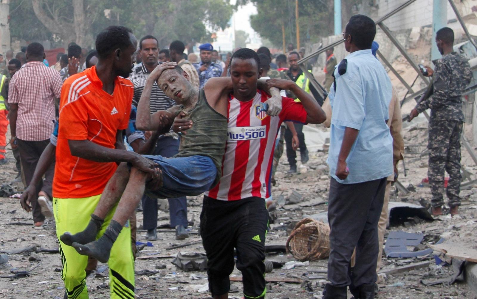 somalia mogadishu bomb attack Naso Hablod Two Hotel