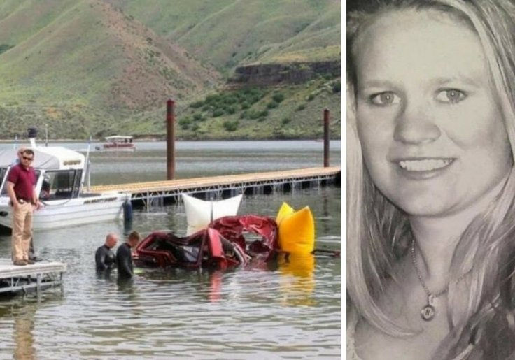 Woman killed herself and her three children by driving off 50ft