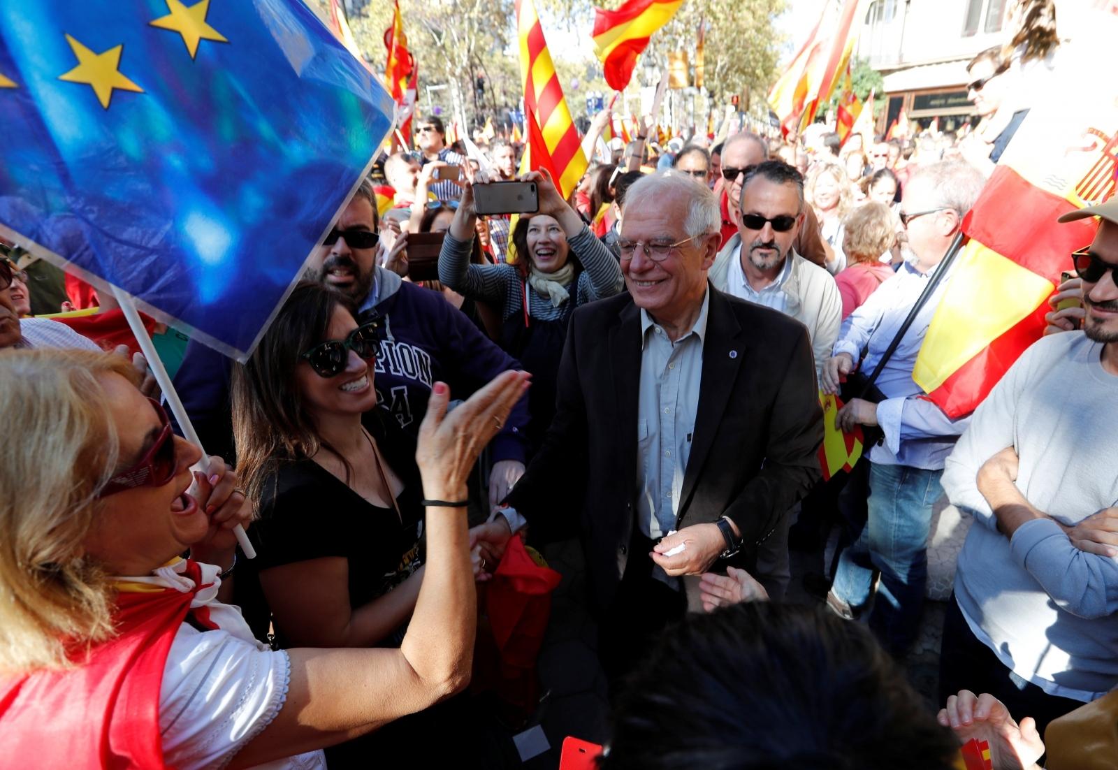 barca protests catalan 2